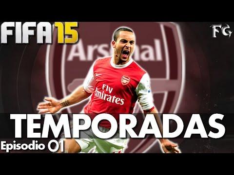 WALCOTT MITO! | FIFA 15 TEMPORADAS - #01 - ARSENAL