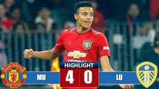 Mаnсhеstеr Unіtеd vs Lееdѕ Unіtеd 4-0 Highlights & All Goals (17/07/2019)