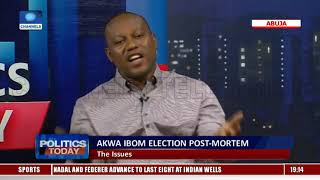 APC, PDP Debate Outcome Of Akwa Ibom Election  Politics Today 