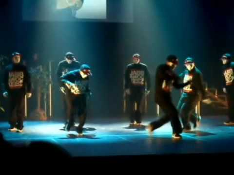 Jabbawockeez at the Monsters of Hip Hop Show 2008 LA Video