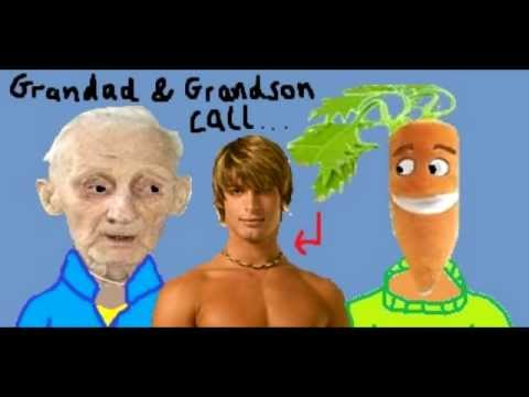 Grandad And Grandson - Prank Call To A Gay Sex Chat Hotline video