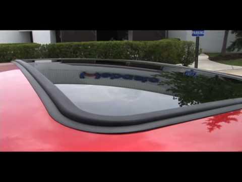 2011 Ford Fiesta with Webasto Power Sunroof