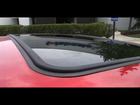 2011 Ford Fiesta With Webasto Power Sunroof Youtube