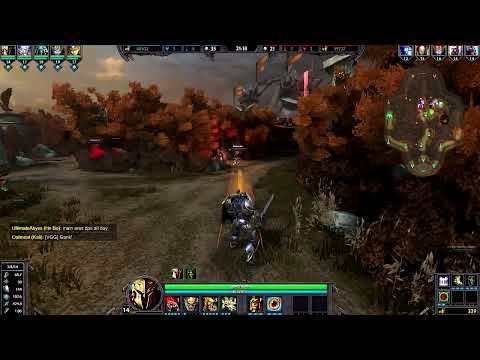 SMITE Ares Gameplay -