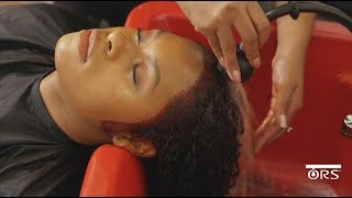 Erica | ORS Olive Oil Hues Makeover | Raging Red #30
