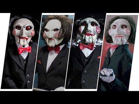 Billy the Puppet/Jigsaw/John Kramer Evolution in Movies (Saw)