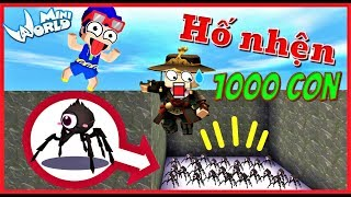 Mini World: Troll kairon bằng hố tử thần 1000 con nhện độc vì kairon quá keo kiệt và cái kết
