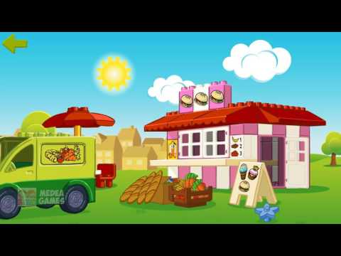 LEGO DUPLO Ice Cream and Food   Cute Animation Lego Education Game for Kids & Children