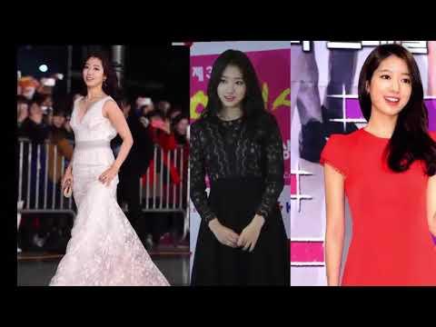 Beautiful and Popular Actress Park Shin Hye