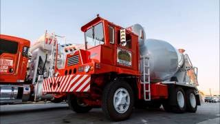 Restored 1968 Crane Carrier Corp Concrete Mixer