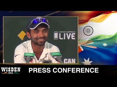 Ajinkya Rahane press conference | Australia v India, First Test, Day 4 | Wisden India
