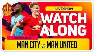 MANCHESTER CITY vs MANCHESTER UNITED | With Mark Goldbridge LIVE