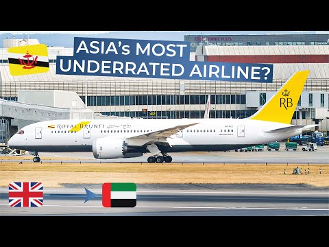 TRIPREPORT | Royal Brunei (Economy) | London Heathrow - Dubai | Boeing 787-8
