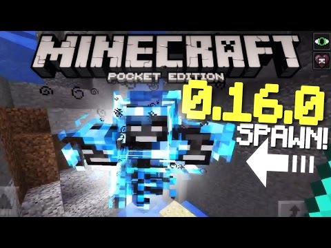 ✔️Minecraft PE 0.16.0 - HOW TO SPAWN THE WITHER!   How to build the new 0.16.0 Wither! [MCPE 0.16.0]