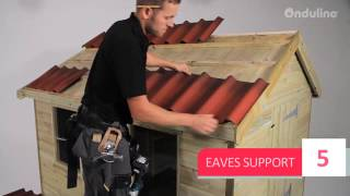 How to install ONDUVILLA roofing system in few steps