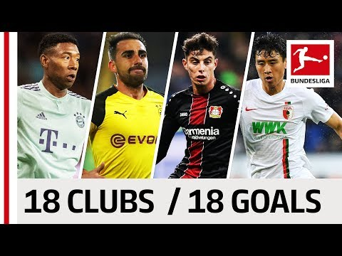 18 Clubs, 18 Goals - The Best Goal by Every Bundesliga Team in 2018/19 So Far thumbnail