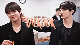Taekook Random cute moments i think?