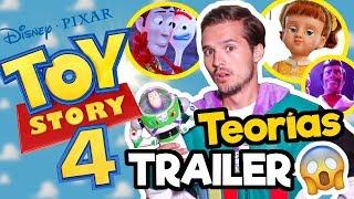 TEORIAS TRAILER DE TOY STORY 4 !! / Memo Aponte