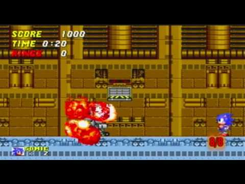 Sonic the Hedgehog 2 All Bosses