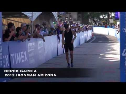 Derek Garcia, Finish Line, 2012 Ironman Arizona