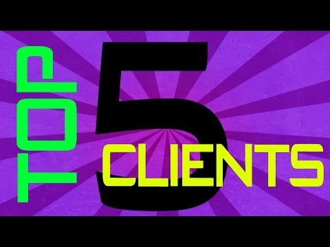 Minecraft - Top 5 Hacked Clients of February 2014 - WiZARD HAX