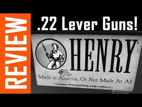 Henry .22 Lever Action Rifles - In Depth Review!
