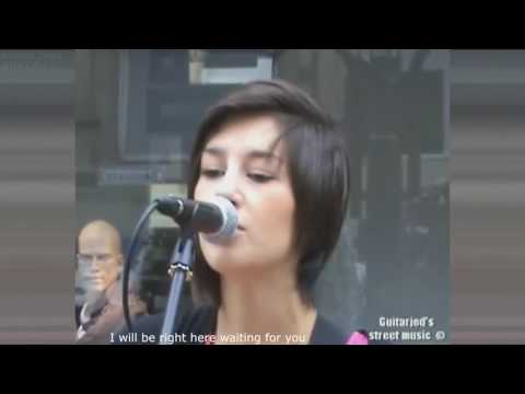 Hannah Trigwell = Richard Marx - right here waiting for you cover guitar (удалённое видео)