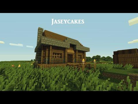 Minecraft 1.7.10 Simple Cottage House Tutorial