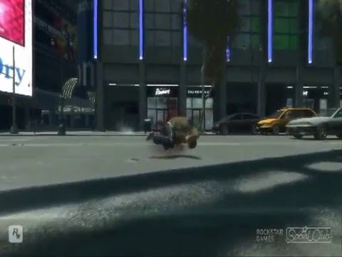 Gta 4 pc Caidas, golpes y accidentes parte 10