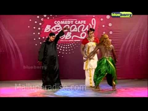 Malayalam Comedy Show Postpaid Comedy Cafe (2011)   Malluparadise Part-2 video