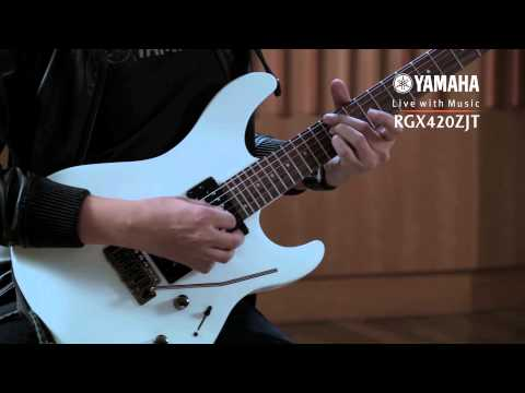 Yamaha Guitar - RGX-420ZJT (Jack Thammarat Model) Review (Thai)
