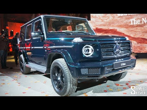 Check Out the NEW 2018 Mercedes G Class! | FIRST LOOK