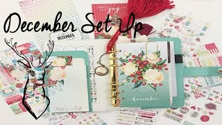 December Planner Set Up-Cocoa Daisy | OhSoFawn
