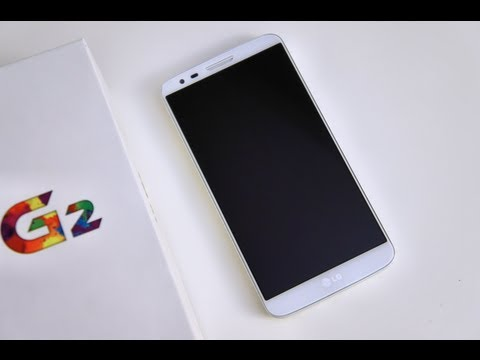 Unboxing of LG G2 White 32 GB version