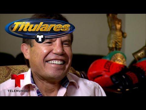 Exclusiva con Julio César Chávez   Titulares Telemundo   NBC Deportes