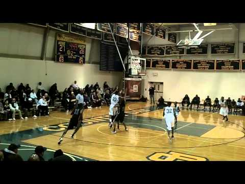 Future Michigan PG Derrick Walton vs. Chicago Hyde Park
