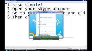 HOW TO MAKE A SECOND SKYPE ACCOUNT