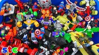 Caja Gigante de Juguetes de Lego Marvel Super Heroes Coleccion de Juguetes