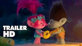 Trolls - Official Film Trailer 2016 - Justin Timberlake Animation Movie HD