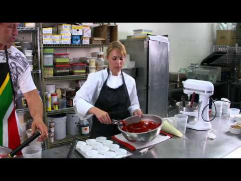 WorldFare Chef Battle Red Velvet Cheesecake Bunnies Gourmet Food Truck arhunger.com bakespace.com