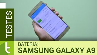 Autonomia do Galaxy A9 | Teste de bateria oficial do TudoCelular
