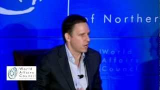 Peter Thiel and Charles Bolden on The World in 2050: What is the Next Big Idea?
