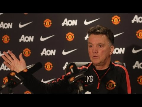 Manchester United - Louis van Gaal 'Disgusted' By Transfer Reports