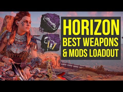 Horizon Zero Dawn BEST PLAYER Shows How To Kill Machines Fast (Horizon Zero Dawn Best Weapons)