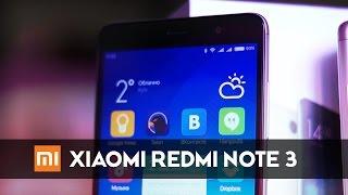 Обзор Xiaomi Redmi Note 3
