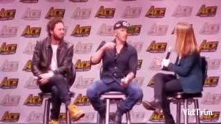 The Punisher panel at Ace Comic Con!!!!