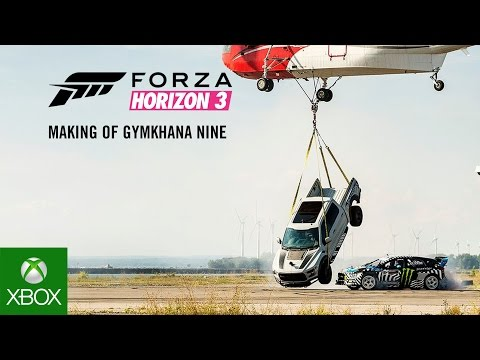 Forza Horizon 3: The Making of Gymkhana NINE