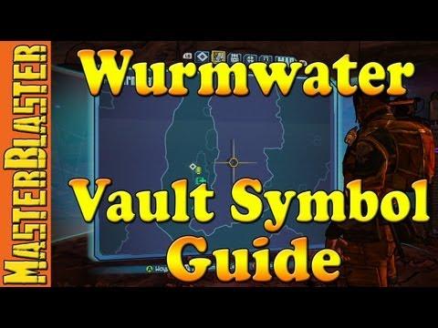 Wurmwater Cult Of The Vault Symbol Challenge Location - Borderlands 2