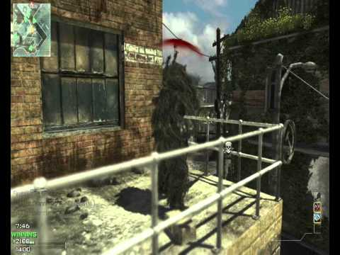 18-5 with L11 Sniper, MW3 TDM,  DivertoR Gameplay (modern warfare 3, call of duty, team deathmatch)