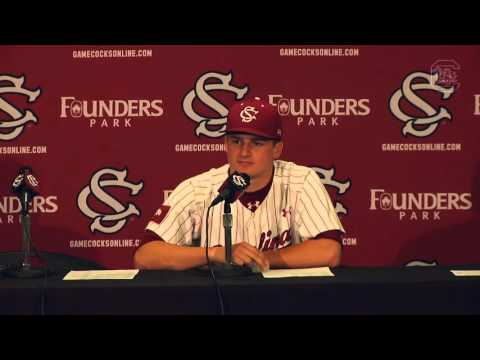 POST-GAME: Clarke Schmidt on Arkansas — 3/18/16
